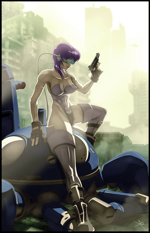 Ghost in the Shell por digitalninja