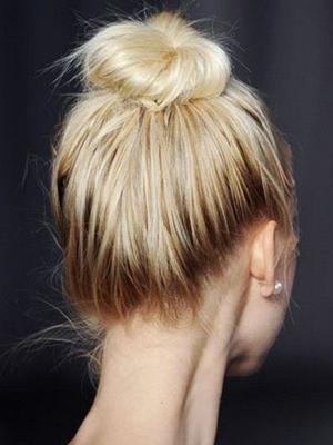 rodetes peinados recogidos