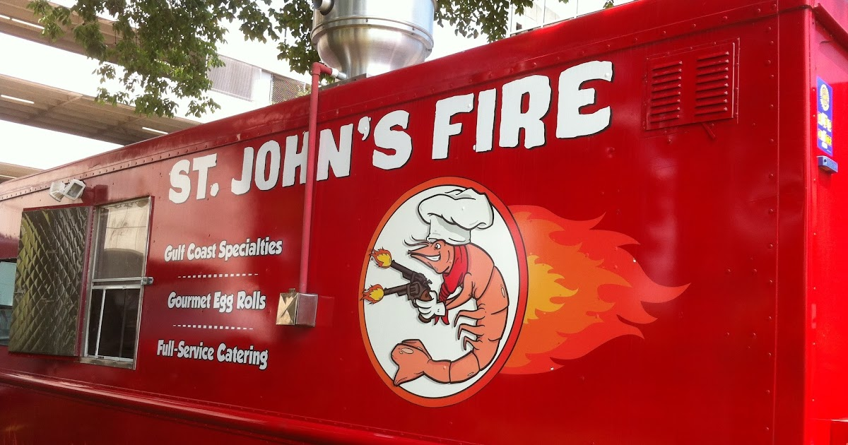 St John S Fire Food Truck