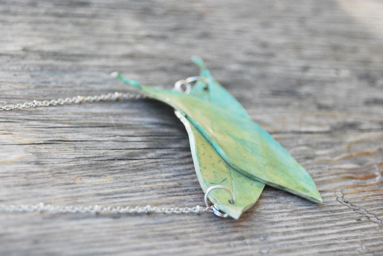 Collar Verde que te quiero verde handmade online