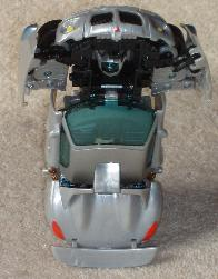 Transformers action figure. Car with head.