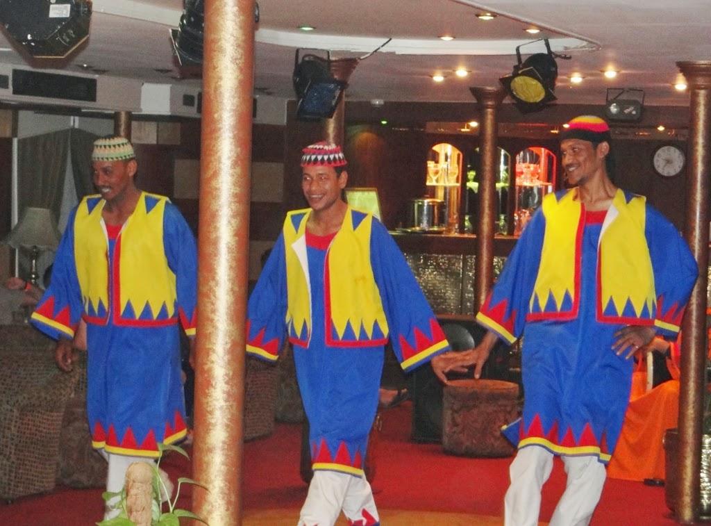 Taniec nubijski - Egipt