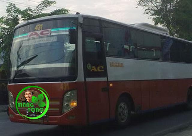 Naik Bus Subang - Jakarta ... Eeh malah mogok