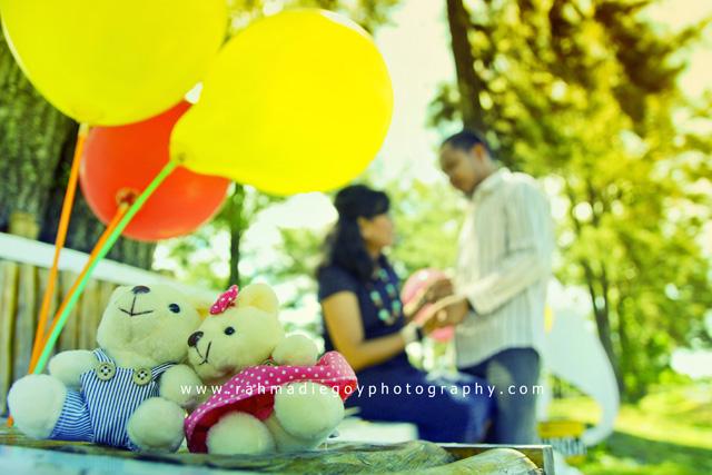 foto prewedding agus dan dewi konsep balon 2