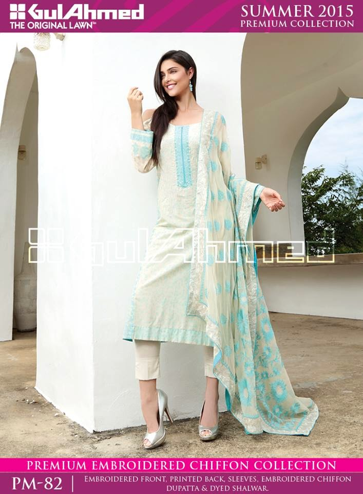Summer Suit Designs 2015 | Latest Embroidered Summer Collection