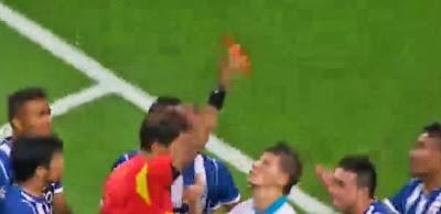 Herrera expulso aos 5 minutos de jogo no FC Porto - Zenit