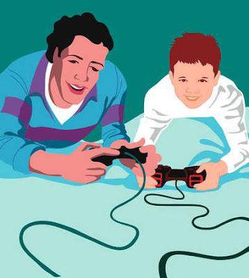 Mencengangkan : Manfaat Ayah Bermain Game bareng Anak