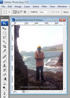 Cara memutar photo dengan photoshop