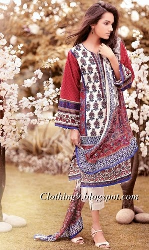 Ethnic Exquisite Lawn S/S 2015 by Outfitters