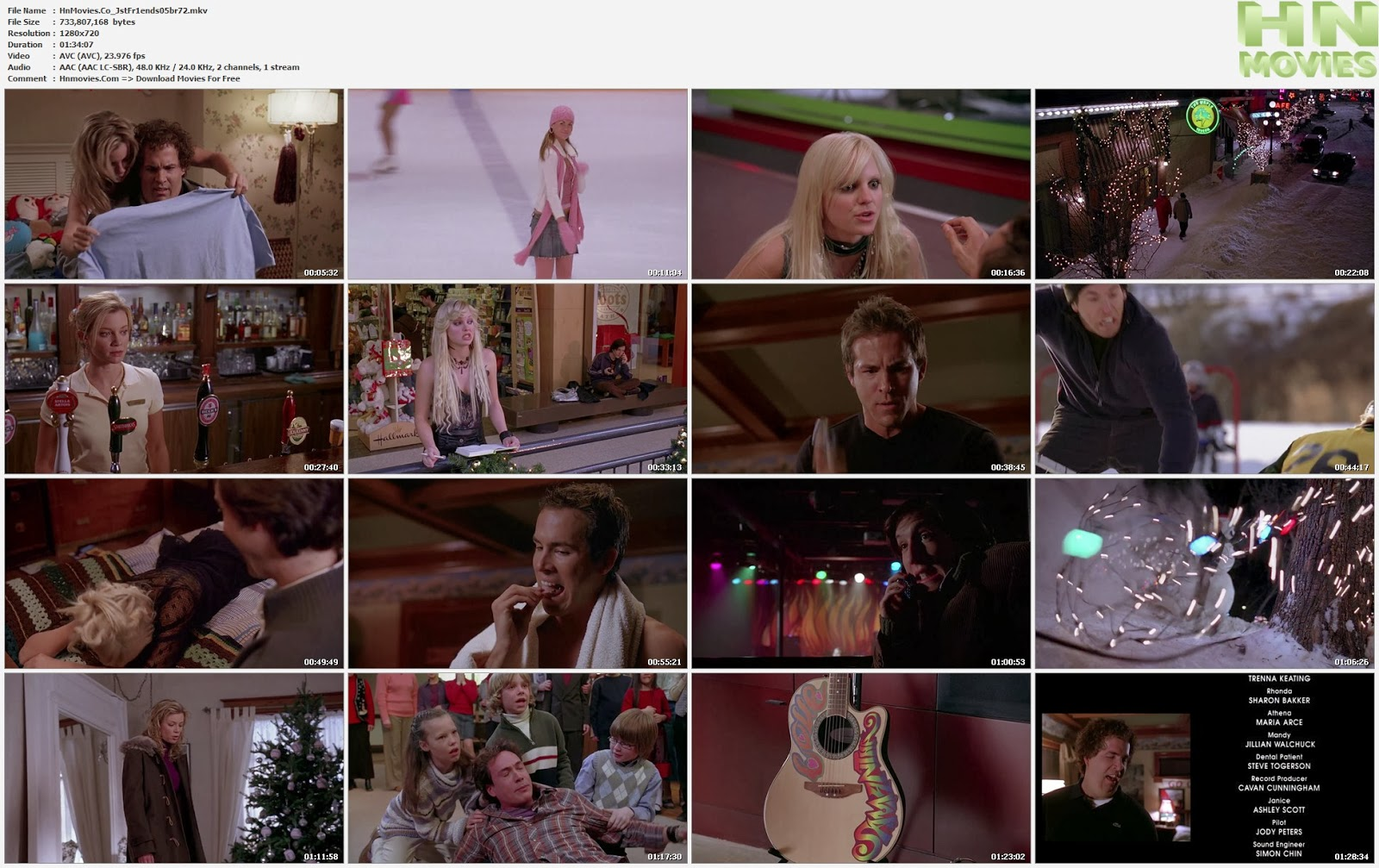 movie screenshot of Just Friends fdmovie.com