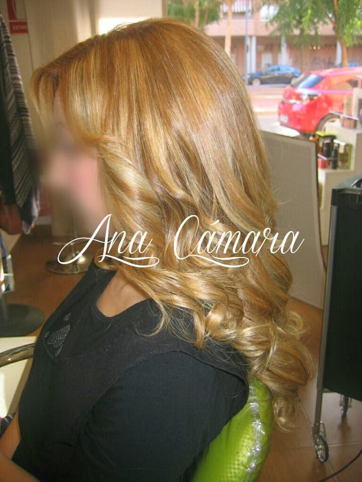 Peinado con tenacilla