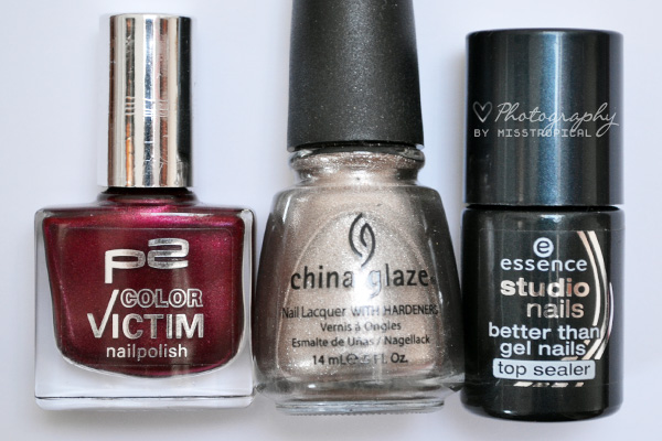 P2 270 scandal China Glaze Swing Baby Essence Top Sealer