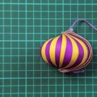 adornos de navidad bolas de papel chirimbolos esferas de papel esferas navideas de navidad para navidad