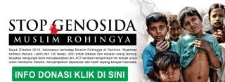 sedekah untuk rohingya