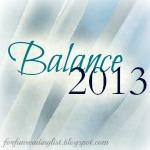Balance   {Reading List}