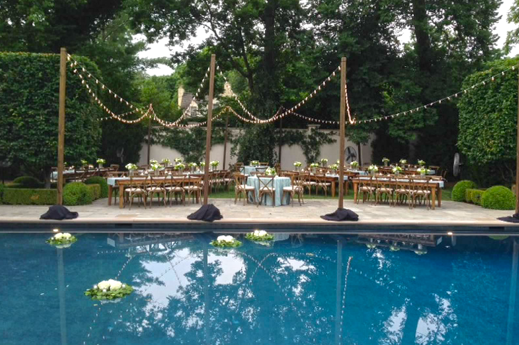 Summer Chic Engagement Party