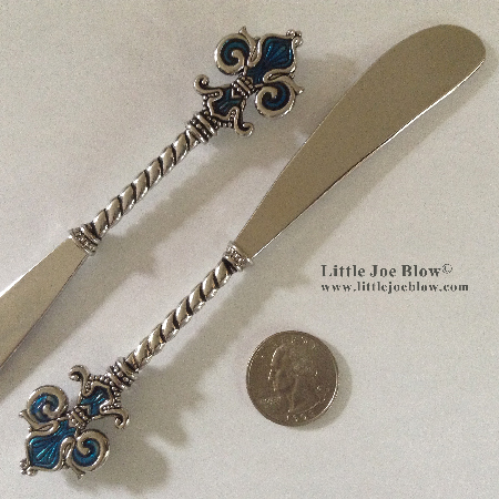 Fleur De Lis Knives- sold by Little Joe Blow photo 5