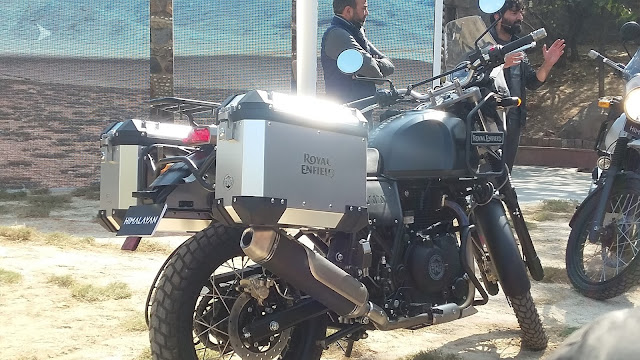 Royal Enfield Himalayan Revealed In India