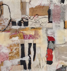 Acryl/Papiercollage von P.Eller