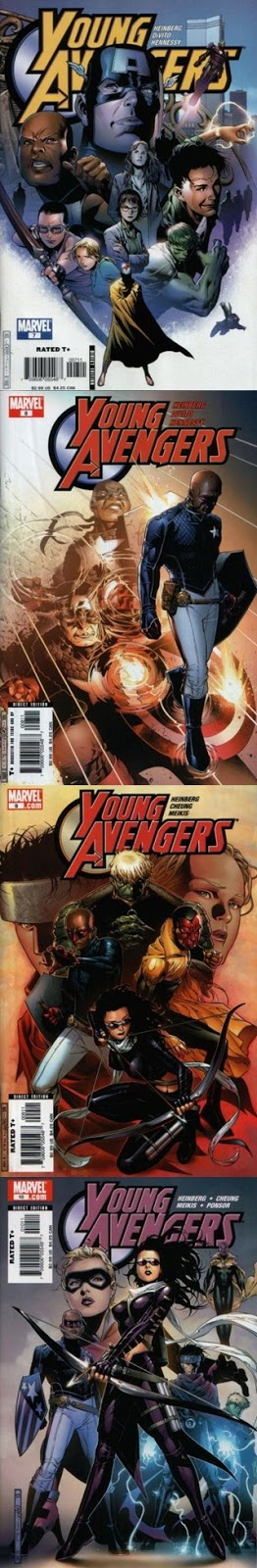 Young Avengers - Heinberg Cheung
