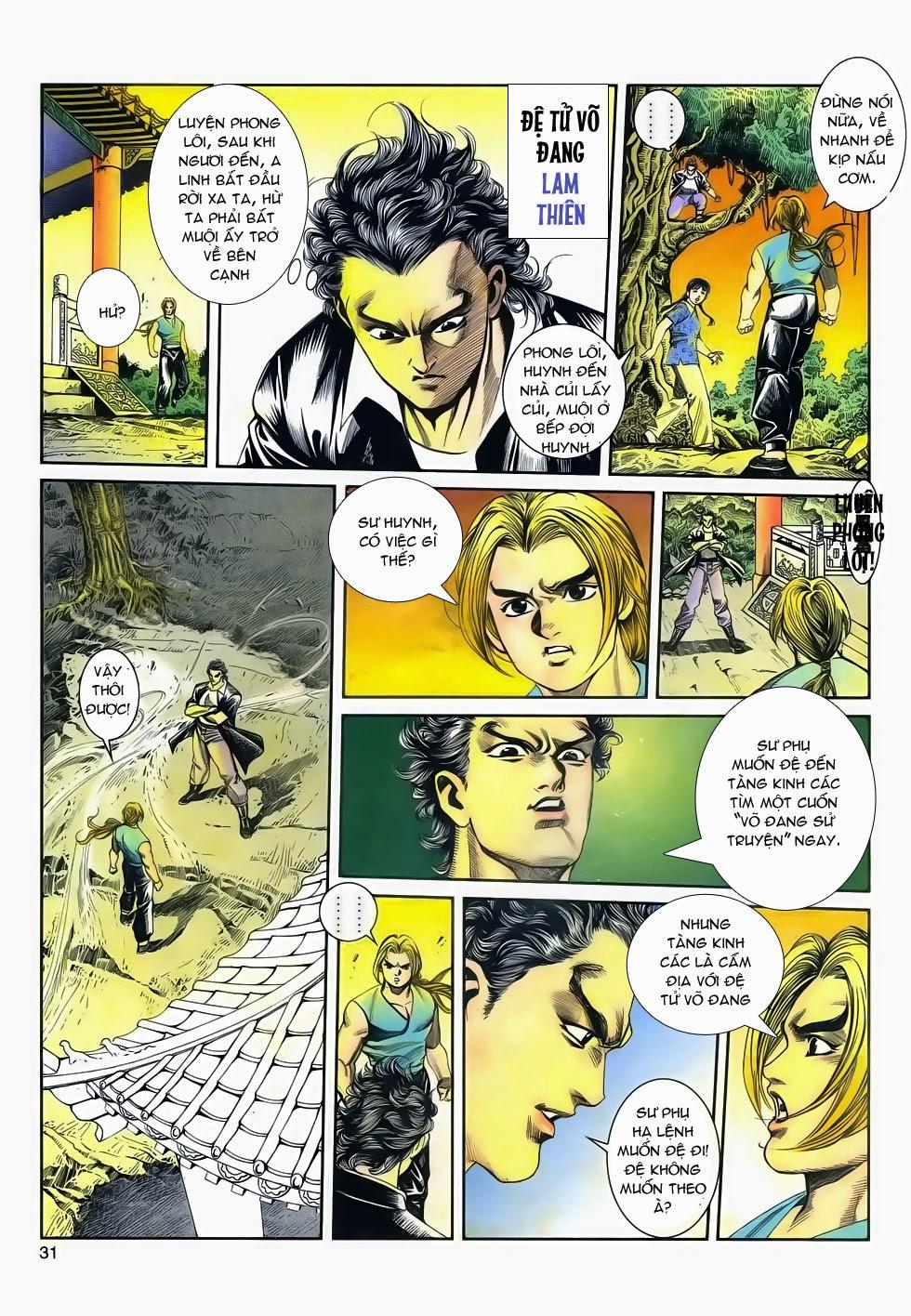 Long Hổ Phong Bạo chap 4 - Trang 30