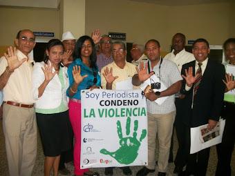 SOY PERIODISTA Y CONDENO LA VIOLENCIA, EN BANI