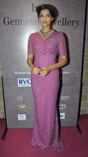 Sonam Kapoor at 40th India Gem and Jewellery Awards Event