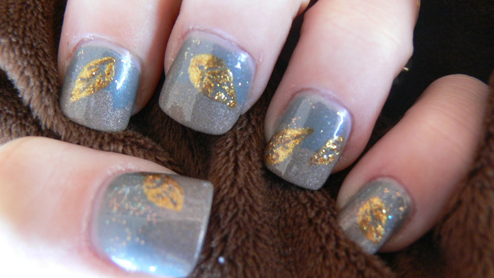 The Astonishing Beautiful gold glitter nail designs Photograph