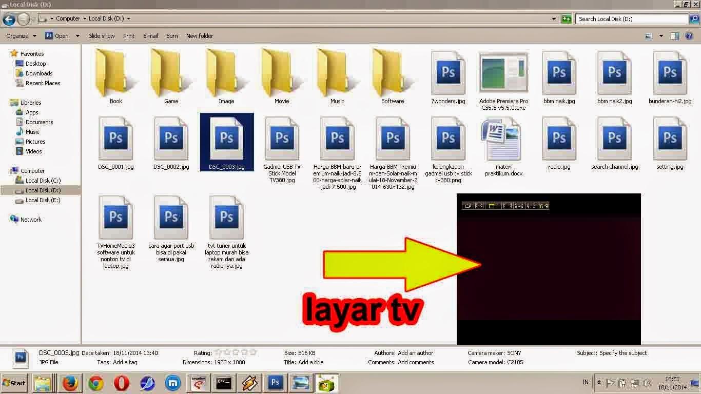 Harga TV Tuner USB Gadmei UTV380