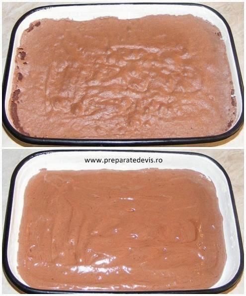 reteta blat de cacao din pandispan pentru prajitura de casa cu crema bezea, retete culinare,