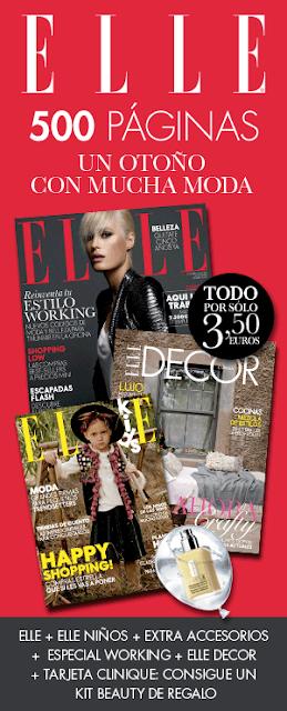 Revista Elle octubre 2013