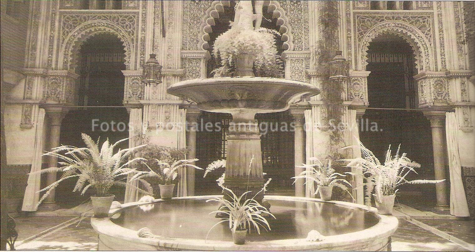 Fotos y postales antiguas de sevilla palacios de sevilla - Decoradores en sevilla ...