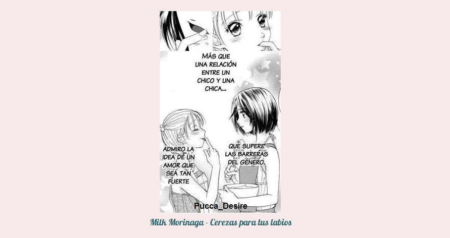 Milk Morinaga \ Cerezas para tus labios