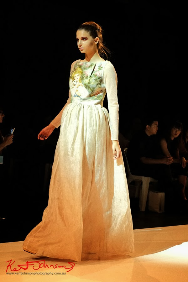 Stephanie Chau,  New Byzantium : Raffles Graduate Fashion Parade 2013 - Photography by Kent Johnson.