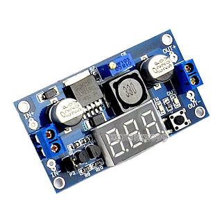LM2596 Power Step-down Module DC 4.0~40 to 1.3-37V + LED Voltmeter ER99