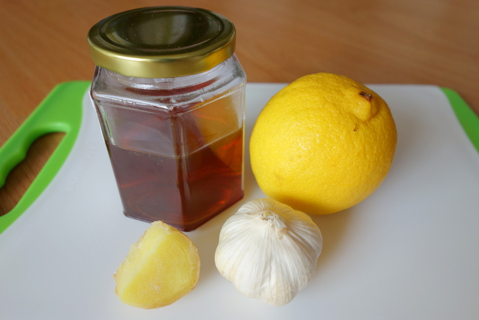 Мед имбирь чеснок лимон