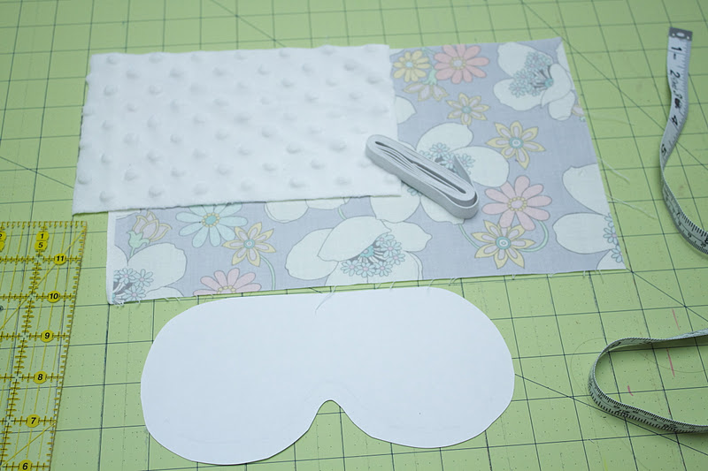 Eye mask invitation template the image for Spa mask invitation template