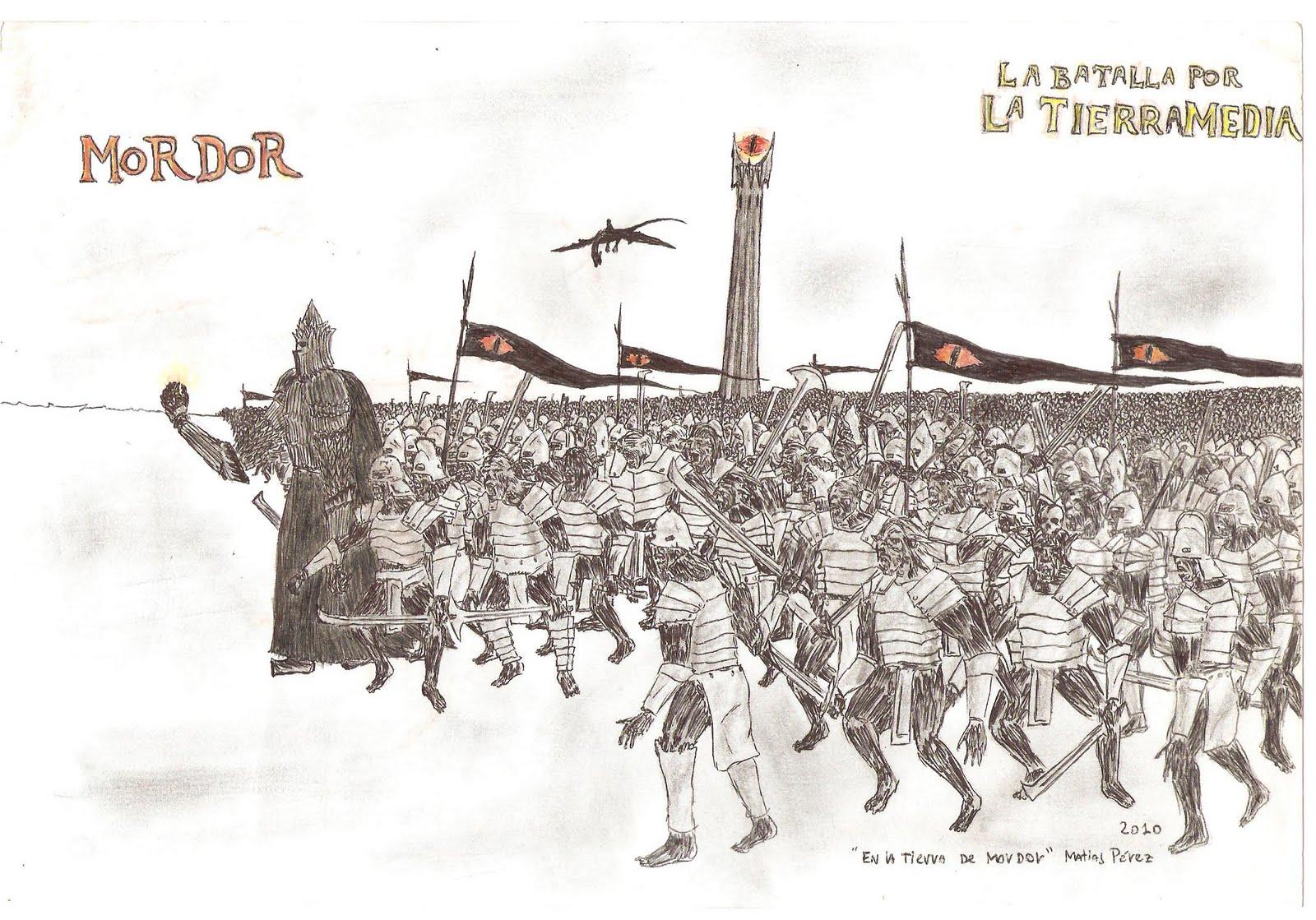 Algunos de mis dibujos de Guerras