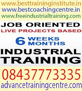 Six Months Industrial Training in Zirakpur
