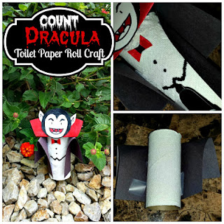 dracula toilet paper roll craft