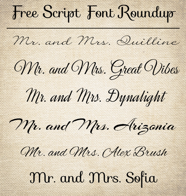 CT-Designs Calligraphy and Wedding Stationery: Free Wedding Script ...