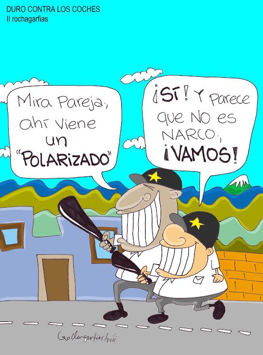 POLICÍA FEDERAL DE CAMINOS; TRATO SELECTIVO