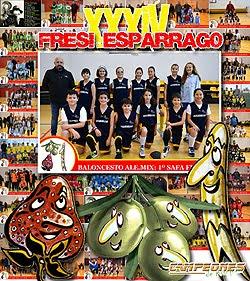 FRESI-ESPÁRRAGO 2017: Baloncesto, Fútbol y Fútbol-sala