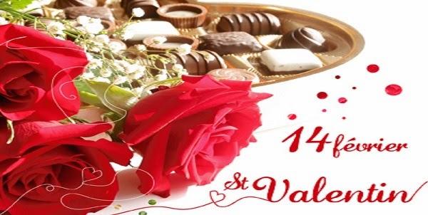 Message et sms pour saint valentin