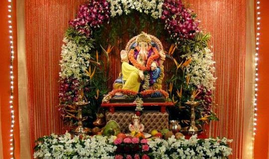 Happy Ganesh Chaturthi 2014 Ganesh Chaturthi Decoration Ideas For Home
