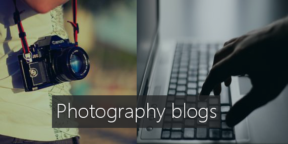 Best premium photography blogs template for Blogger