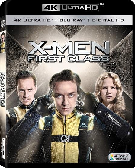 X-Men: Firts Class 4K (X-Men: Primera Generación 4K) (2011) 2160p 4K UltraHD HDR BluRay REMUX 37GB mkv Dual Audio DTS-HD 5.1 ch