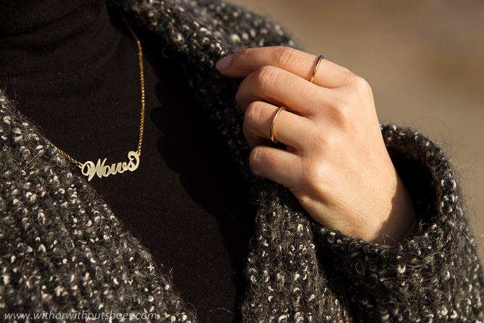 Tendencias en joyas collares personalizados con letras