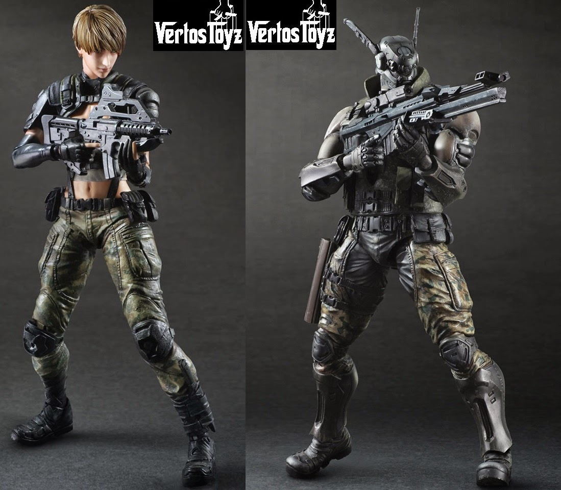 IN STOCK  Square Enix Alpha DEUNAN KNUTE & BRIAREOS HECATONCHIRES