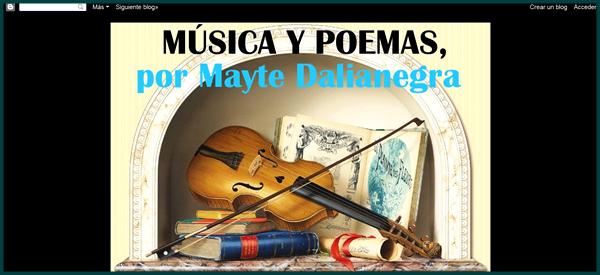 Musica y Poemas
